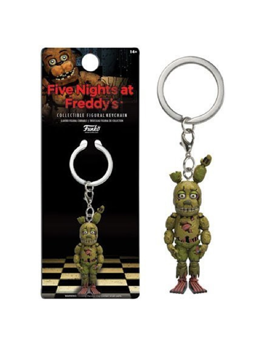Брелок Five Nights at Freddy's Spring Trap Keychain