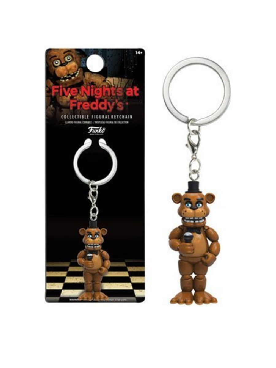 Брелок Five Nights at Freddy's Freddy Keychain