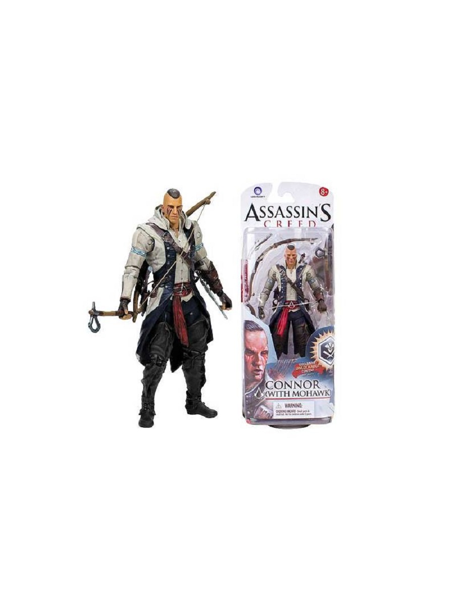 Фигурка Assassin Creed Connor with avec con Mohawk 14,5 см