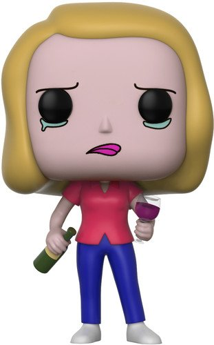 Фигурка Funko POP! Vinyl: Rick & Morty S3: Beth w/ Wine Glass