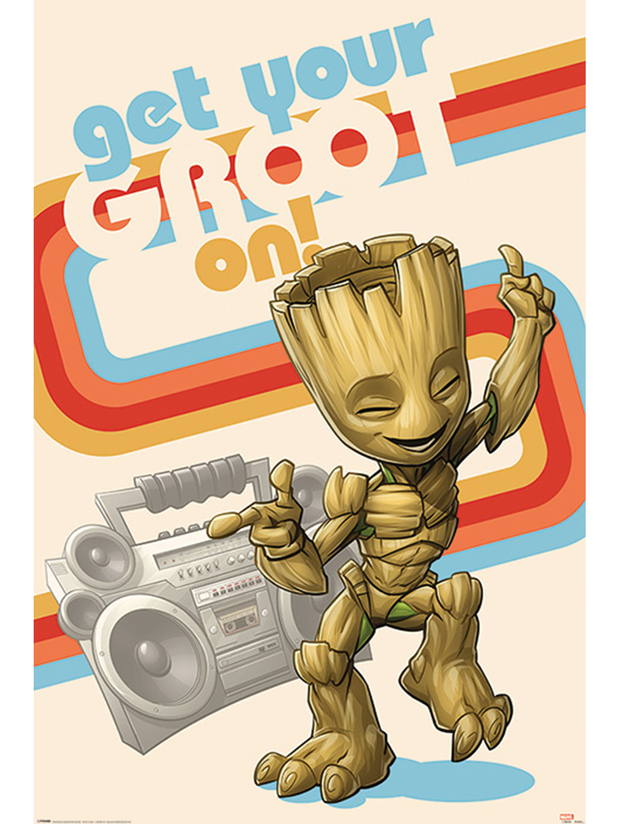 Постер Maxi Guardians Of The Galaxy (Get Your Groot On) PP34562