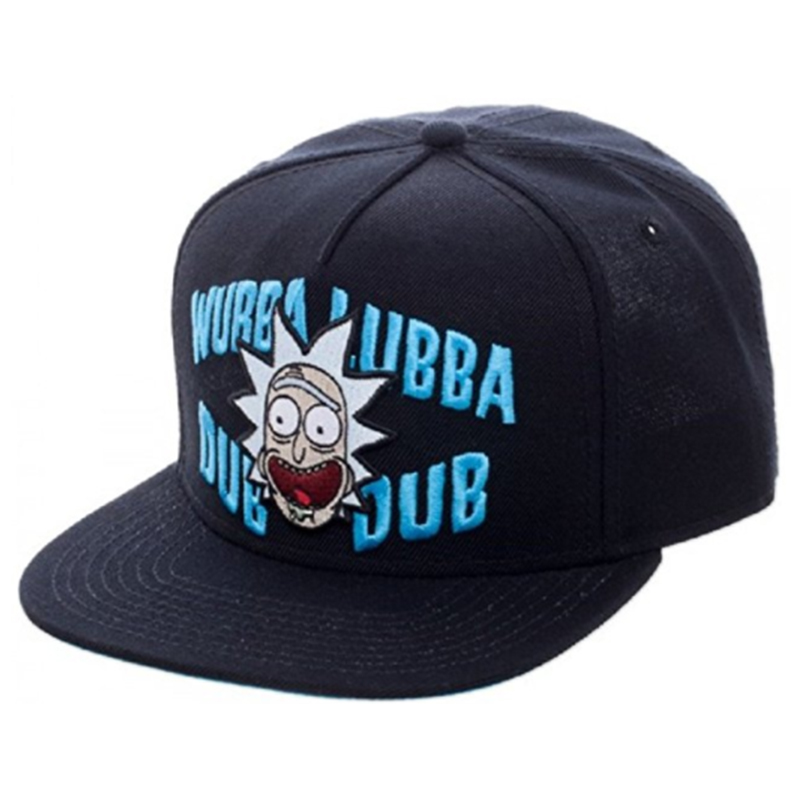Бейсболка Rick and Morty Wubba Lubba Dub Dub
