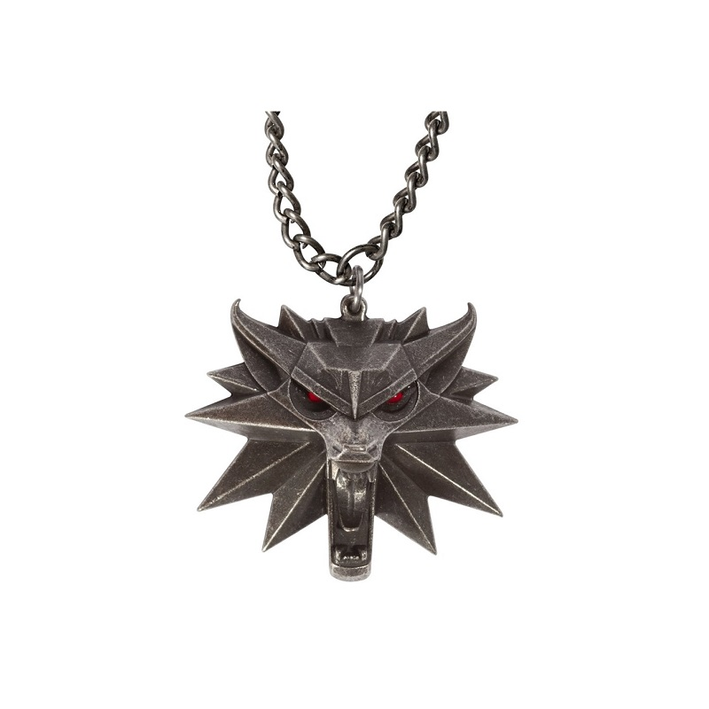 Кулон The Witcher 3 Wild Hunt Medallion with LED Eyes