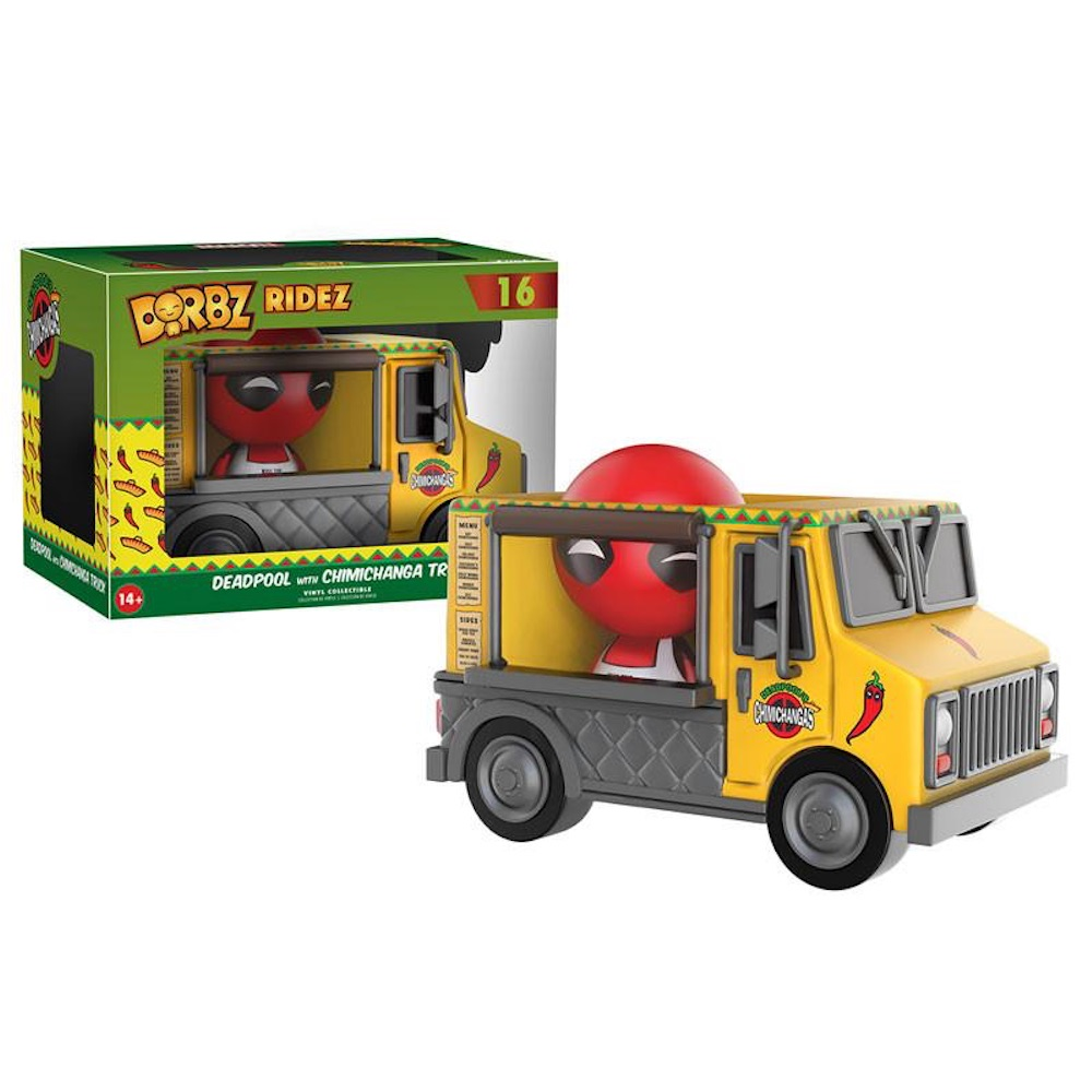 Фигурка Funko Dorbz Ridez: Marvel: Deadpool & Chimichanga Truck