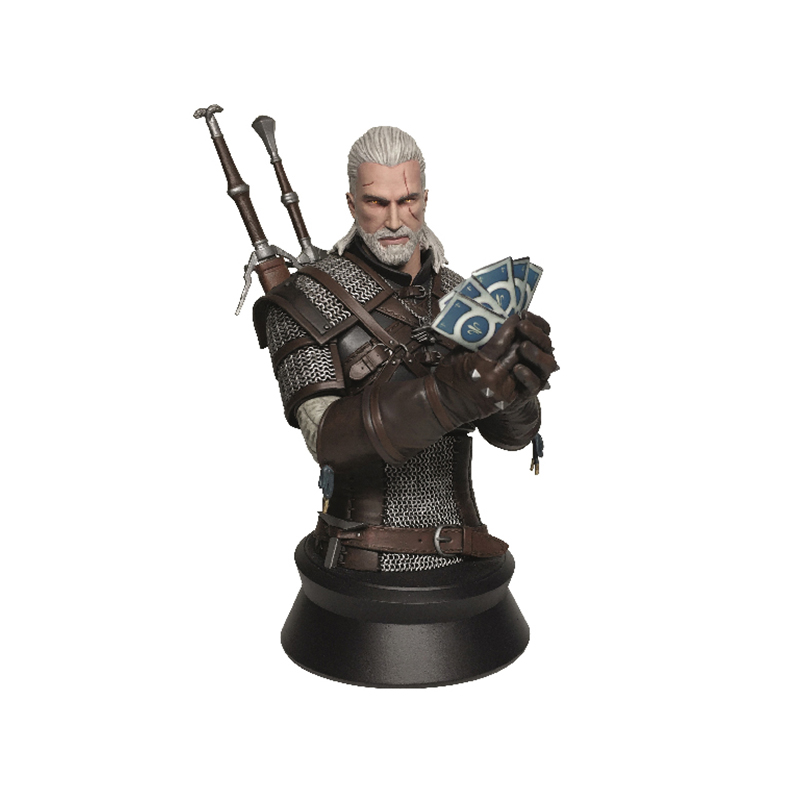Бюст The Witcher 3 Wild Hunt Geralt 22см