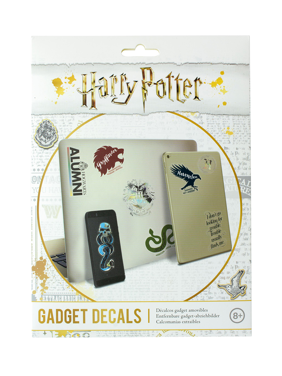 Наклейки Harry Potter Slogan Gadget Decals PP4954HP