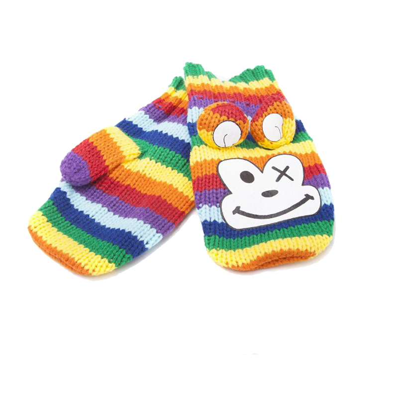 Варежки Freaks And Friends Rainbow Monkey Mittens
