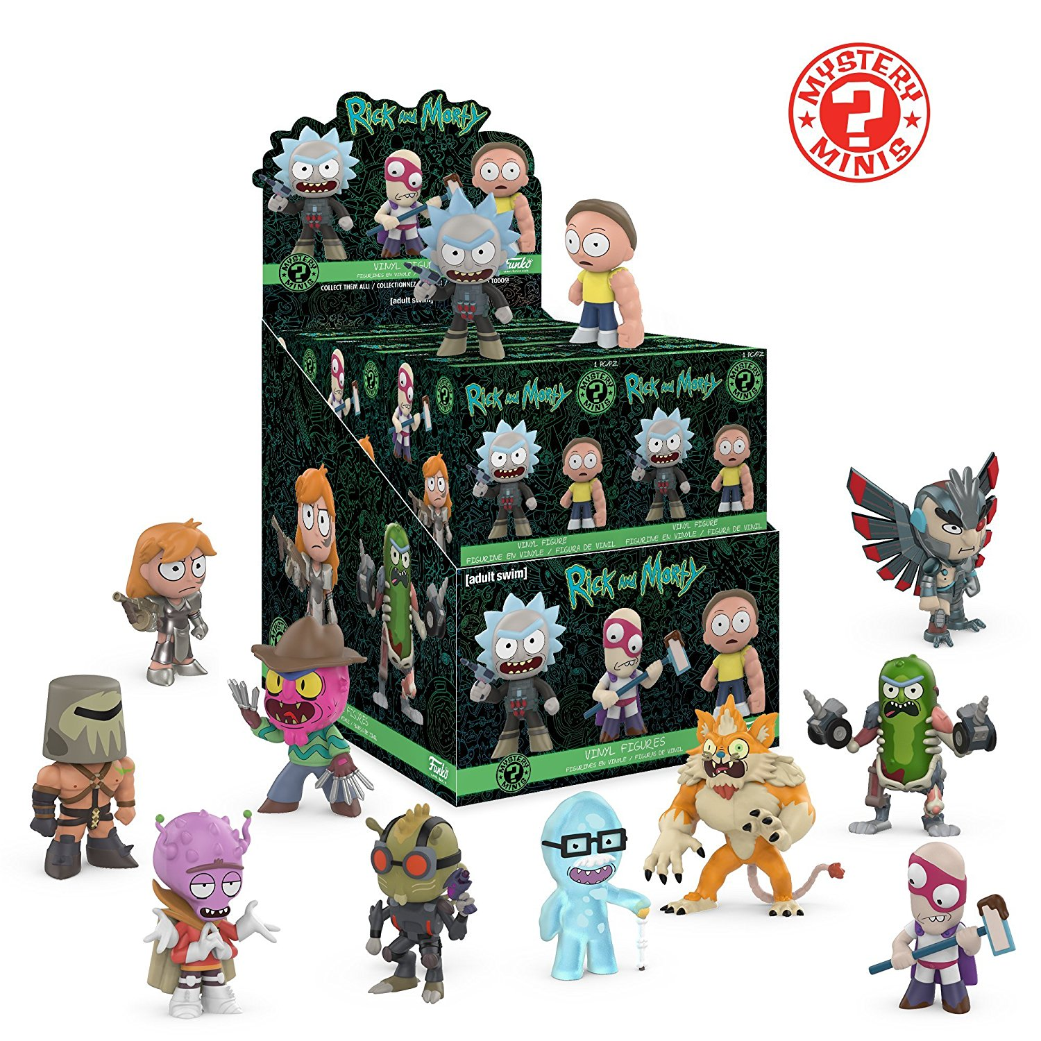 Фигурка Funko Mystery Minis: Rick & Morty Series 2 (1шт.)